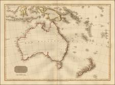 Southeast Asia, Australia and New Zealand Map By John Pinkerton