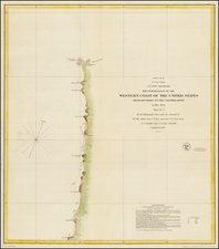 Oregon Map By United States Coast Survey