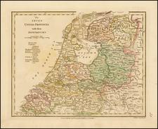 Netherlands Map By Robert Wilkinson
