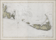 New England and Massachusetts Map By Joseph Frederick Wallet Des Barres