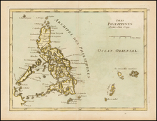 Southeast Asia and Philippines Map By Jean-Baptiste Crepy
