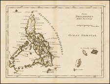 Southeast Asia and Philippines Map By Georges Louis Le Rouge