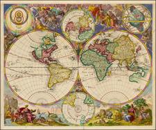 World Map By Peter Schenk