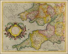 British Isles Map By Gerhard Mercator