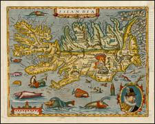 Iceland Map By Matthias Quad