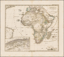 Africa Map By Adolf Stieler