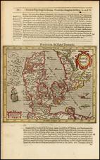 Germany and Scandinavia Map By Jodocus Hondius / Samuel Purchas