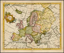 Europe Map By Thomas Jefferys