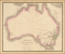 Australia By W. & A.K. Johnston