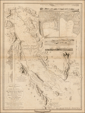 Middle East and Egypt Map By William Faden