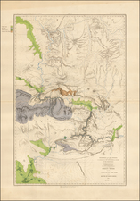 Southwest, Rocky Mountains, Utah and Wyoming Map By United States Department of the Interior