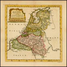 Netherlands Map By Thomas Jefferys