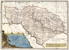 Europe, Poland and Russia Map By Franz Johann Joseph von Reilly
