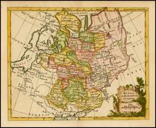 Russia and Ukraine Map By Thomas Jefferys