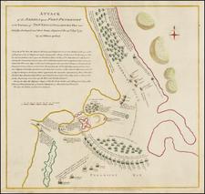 New England Map By Paul de Rapin de Thoyras