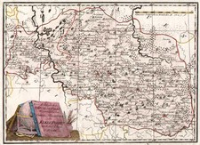 Europe, Poland, Russia and Baltic Countries Map By Franz Johann Joseph von Reilly