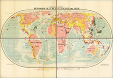 World and World Map By Freytag & Berndt