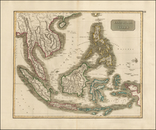 Southeast Asia and Philippines Map By John Pinkerton