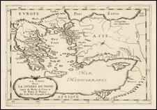 Greece, Turkey, Mediterranean and Turkey & Asia Minor Map By Pierre Du Val