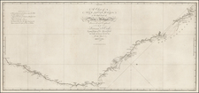 Australia Map By James Cook