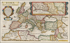 Europe, Italy and Mediterranean Map By Philip Briet / Michel Van Lochem