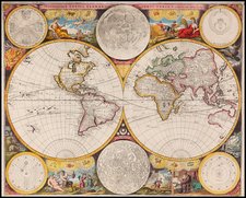 World and World Map By John Seller