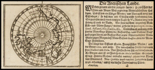 Northern Hemisphere and Polar Maps Map By Johann Ulrich Muller