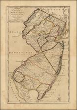 Mid-Atlantic Map By Mathew Carey