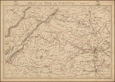 Seat of War in Virginia.  Sheet 3. By Edward Weller / Weekly Dispatch