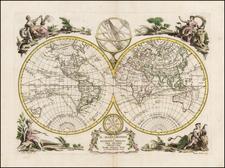 World Map By Antonio Zatta