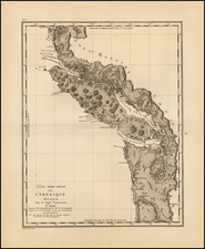 Canada Map By George Vancouver