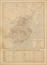 China and Korea Map By Adrien Launay