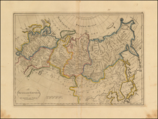 Europe, Russia, Central Asia & Caucasus and Russia in Asia Map By Mathew Carey