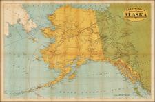 Alaska and Canada Map By Rand McNally & Company