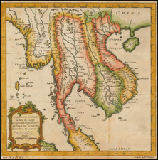 Southeast Asia Map By Jacques Nicolas Bellin