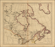 Canada Map By Matthew Carey