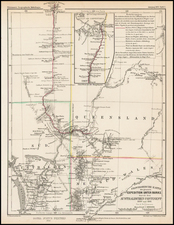 Australia Map By Augustus Herman Petermann