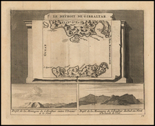 Spain Map By Pieter van der Aa