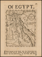 Egypt Map By Robert Morden