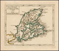 Canada Map By Gilles Robert de Vaugondy