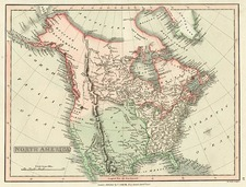North America Map By Charles Smith