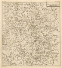 Russia Map By Pierre Antoine Tardieu