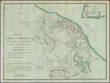 Virginia Map By Henri Soules
