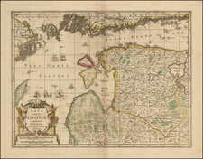Baltic Countries and Scandinavia Map By Moses Pitt