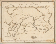 Mid-Atlantic Map By John Stockdale