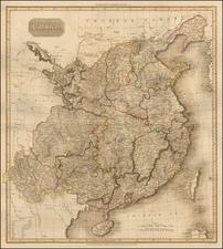 China Map By John Pinkerton