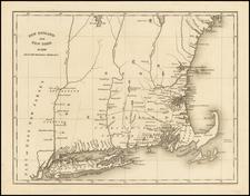 New England Map By Hinton, Simpkin & Marshall
