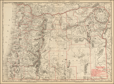 Oregon Map By William Rand  &  Andrew McNally