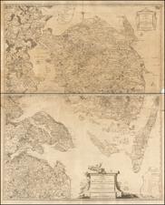 Denmark Map By H Skanke