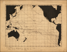 Australia & Oceania, Pacific, Australia, Oceania, New Zealand and Other Pacific Islands Map By James Edge Partington